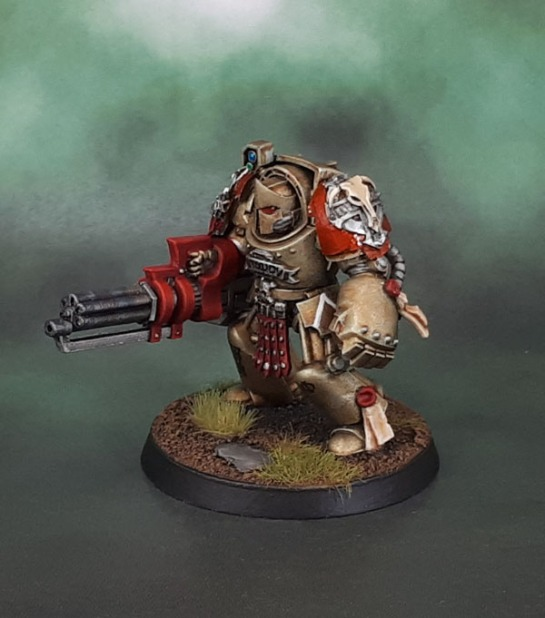 Minotaurs Space Marines - Terminator Assault Cannon Damon Anvil Industry