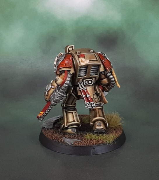 Minotaurs Space Marines - Terminator Chainfist Anvil Industry