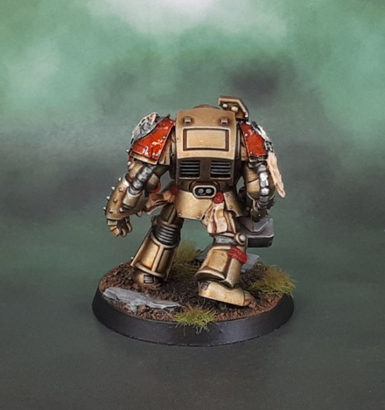 Minotaurs Space Marines - Terminator Power Fist Dark Vengeance Anvil Industry