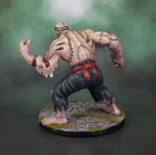 D&D Dungeons and Dragons Castle Ravenloft Flesh Golem