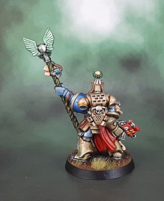 Minotaurs Space Marines - Librarian, Chief Librarian Tigurius V1, 1995