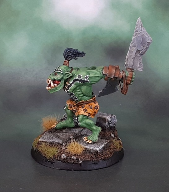 "Shieldwolf ""Mountain Orc Hero B"" - Savage Orc Boss"