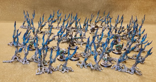 Games Workshop Citadel Death World Forest Terrain Shardwrack Spines