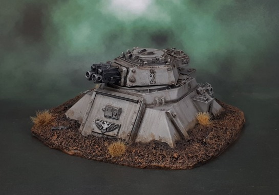 Forge World Imperial Heavy Bolter Turret Emplacements