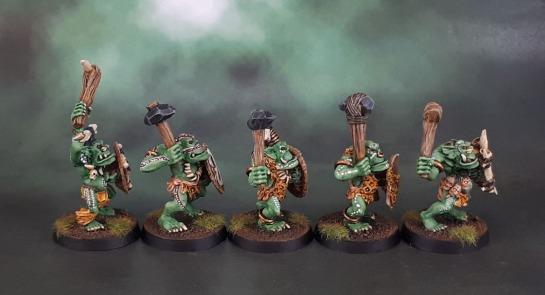 Savage Orcs, Savage Orruks, Bonesplitters, Oldhammer, Midhammer