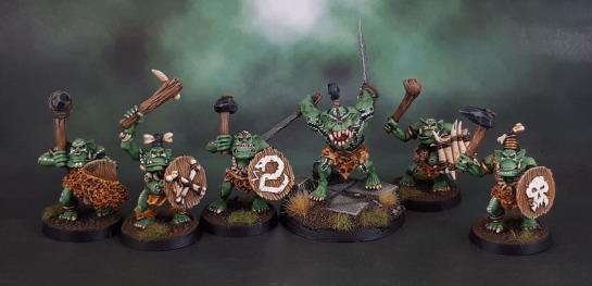 Savage Orcs, Savage Orruks, Bonesplitters, Oldhammer, Midhammer, Shieldwolf.