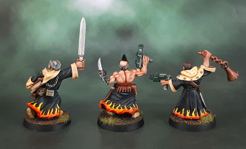 HeroQuest Modern take on a classic 32mm resin Warhammer AoS Chaos Sorcerer