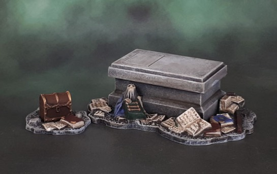 Mines of Moria Balin's Tomb and Chest