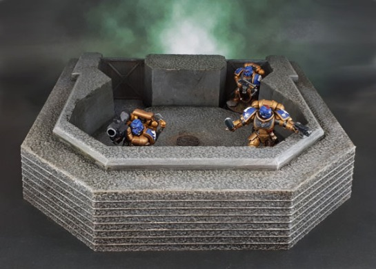 DUST Axis Heavy Laser Bunker, Allies Heavy Phaser Bunker