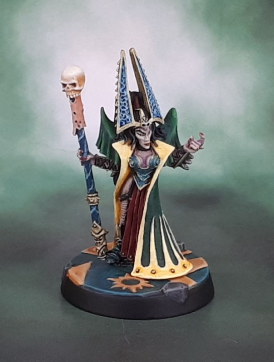 Morathi Dark Elf Supreme Sorceress, Chris Fitzpatrick, 1997