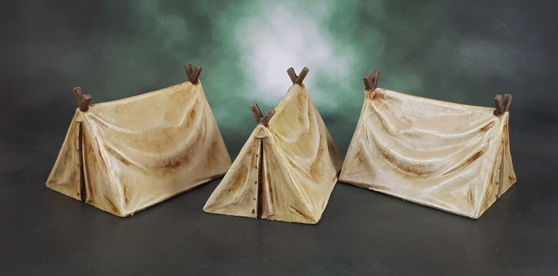 Mantic Terrain Crate - Pup Tents