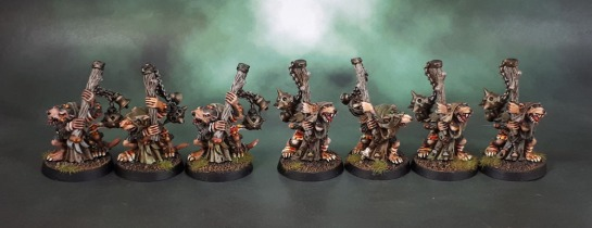 Skaven Plague Censer Bearers