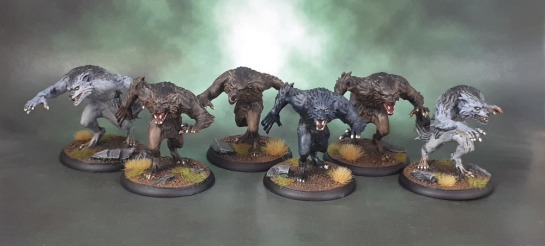 Shadows of Brimstone: Werewolf Feral Kin