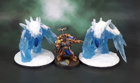 Mantic Games Ice Elemental