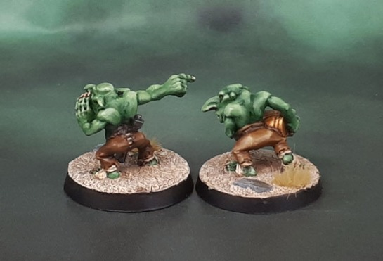 Gretchin Grot Loaders/Big Gun Kannon crew, Brian Nelson