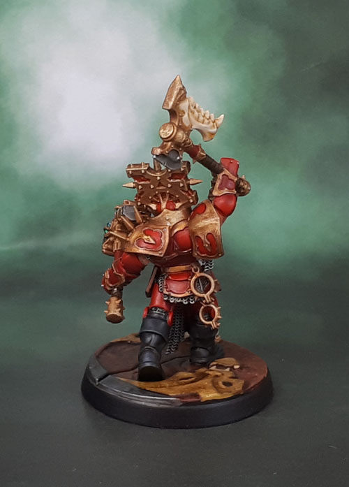 AoS 1st Ed Khorne Blood Warrior Hero