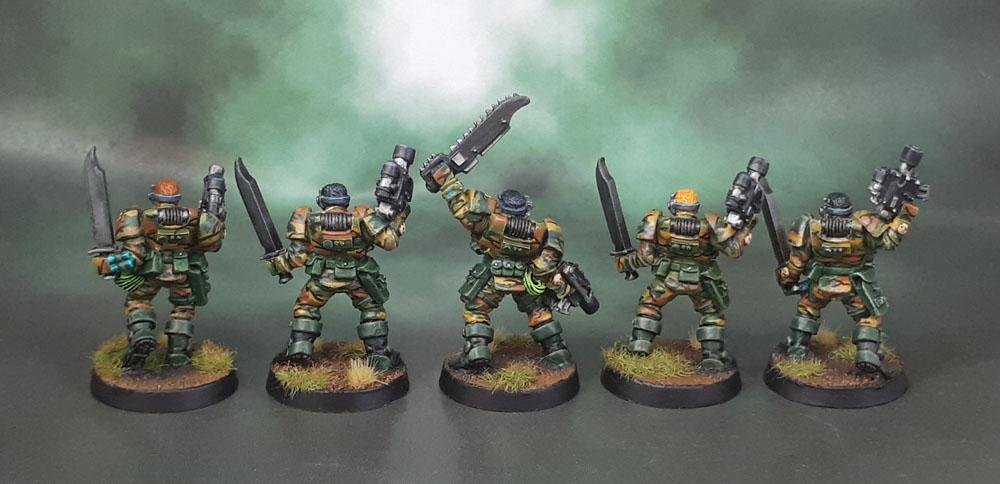 Space Marine Scout Squad Bolt Pistols x 4 Warhammer 40k Conversion Bits