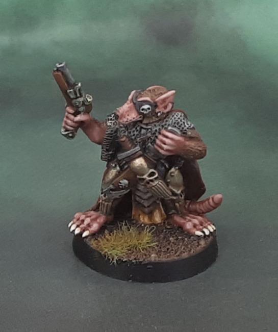 Heartbreaker Ratman Leader with Pistol 3504