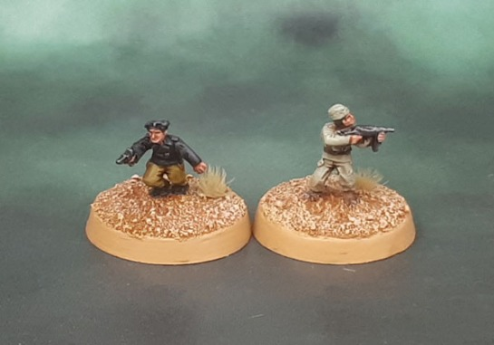 15mm Flames of War Dismounted DAK Panzer Crew