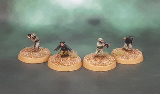 15mm Flames of War Dismounted DAK Panzer Crew