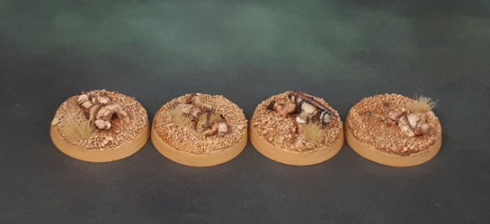 15mm Flames of War DAK Pinned Markers