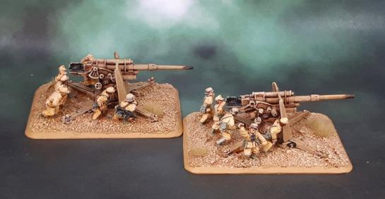 15mm Flames of War DAK Luftwaffe Flakartillerie 88mm - Battlefront Miniatures