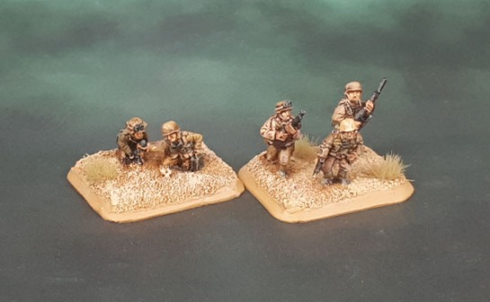 15mm Flames of War DAK Grenadier Zug - Battlefront Miniatures