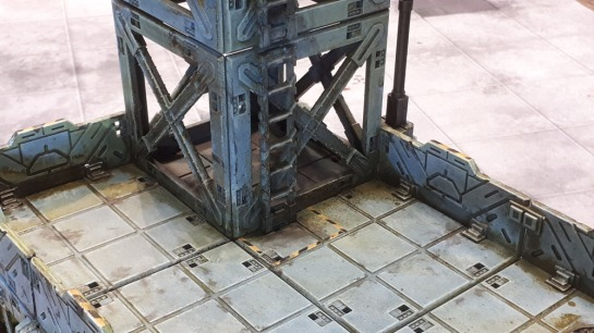 Mantic Terrain Crate BattleZones Bunker/Industrial Building