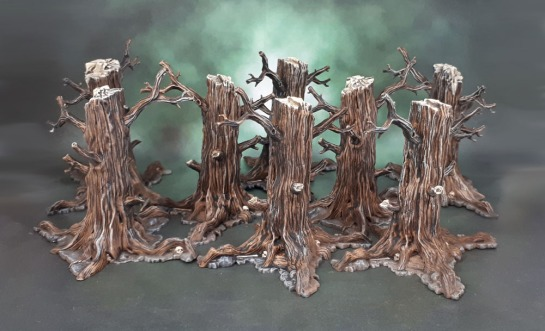 Adrian Smith's HATE - 3D Plastic Trees