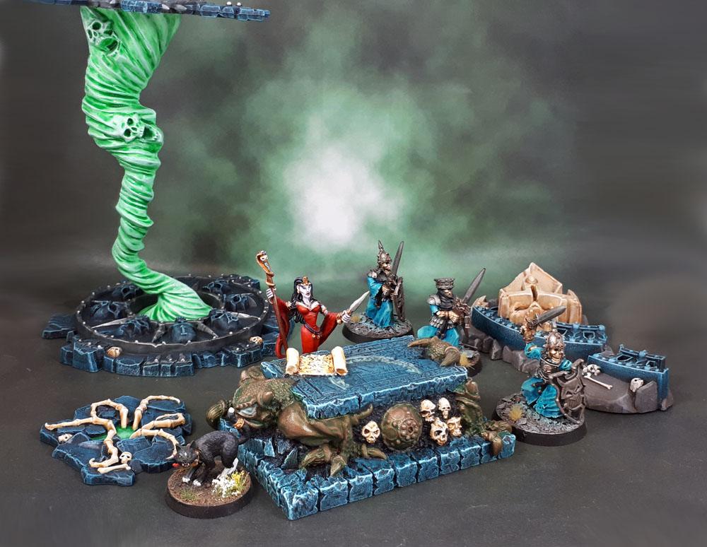 Scotia Grendel 10015: Daemonic Altar, Balewind Vortex, Warhammer Underworlds: Nightvault Arcane Hazards