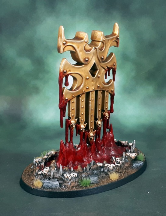Khorne Endless Spells, Judgement of Khorne: Bleeding Icon