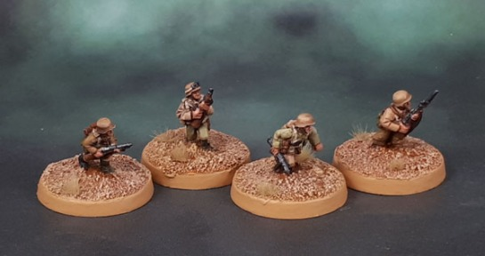 15mm Flames of War DAK Status Markers