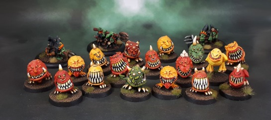 Kev Adams Squigs, Squig Herders.
