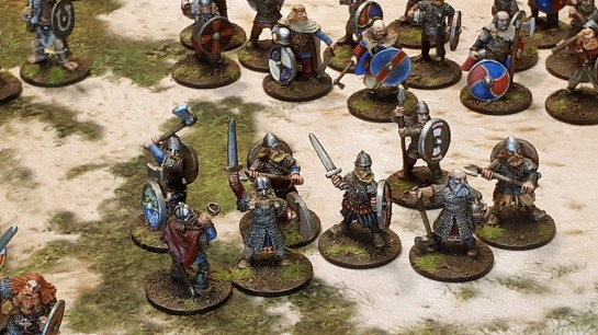 Miniature Viking Army