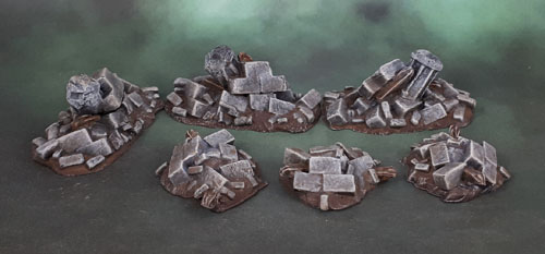 Mantic Terrain Crate Rubble