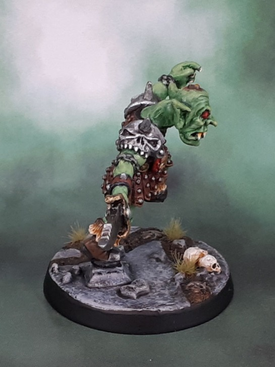 Warmonger Miniatures Goblin Warlord, Kev Adams