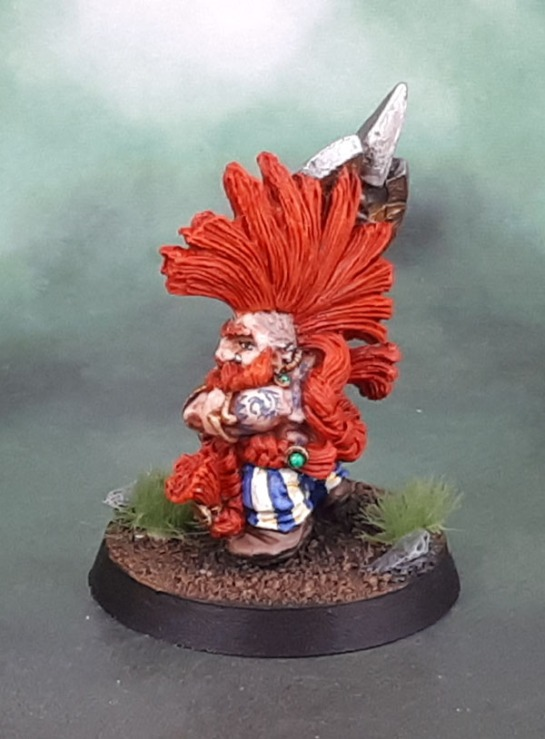 Citadel Dwarf Daemon Slayer, Aly Morrison, 1993