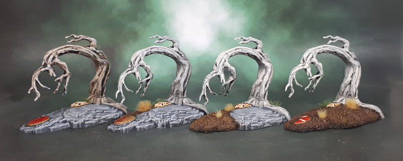 Mythic Battles: Pantheon - 3D Terrain Set - Trees