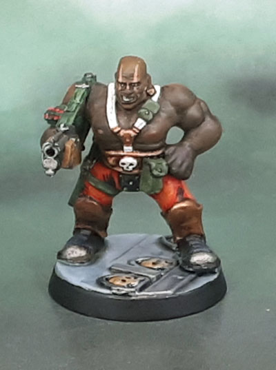 Necromunda 1995 plastic Goliath ganger