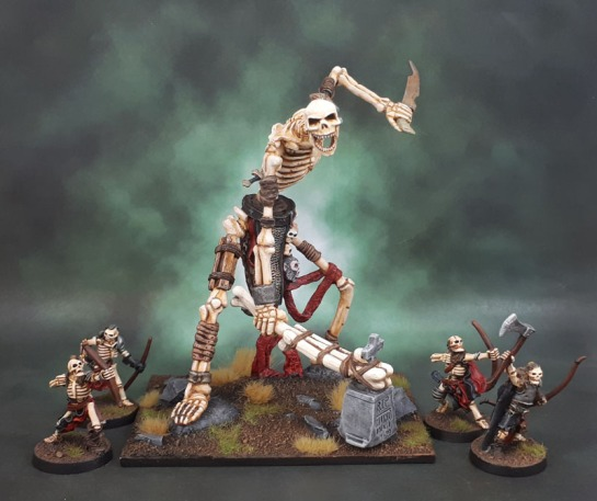 Reaper Bones 77116, Colossal Skeleton, Jason Wiebe, Undead Giant, Bone Giant
