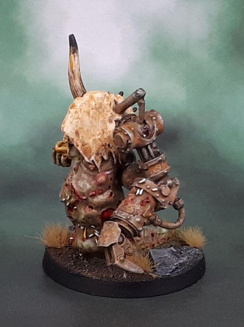 Forge World Daemonic Herald of Nurgle, Mamon Transfigured, Daemon Prince