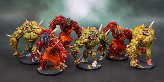 Zombicide, Toxic Zombie Abominations, Berserker Zombie Abominations