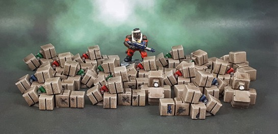 Mantic Mars Attacks Crates Boxes