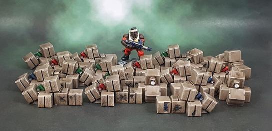 Mantic Mars Attacks Crates Boxes