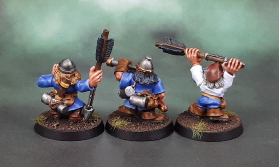 WHFB Dwarf Bolt Thrower Crew, Colin Dixon, 1998
