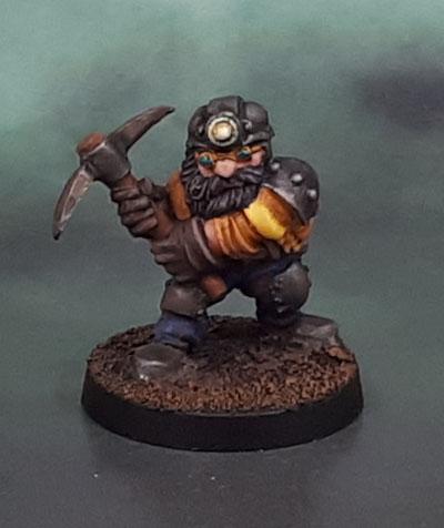 Stonehaven Dwarves Miner