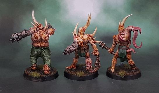 Nurgle Poxwalkers