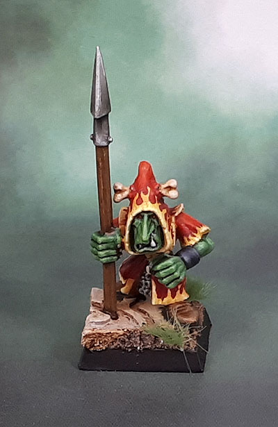 Plastic WHFB Night Goblin