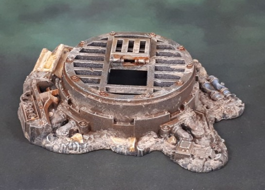 40k Cities of Death Sewer Vent from Urban Conquest