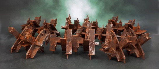 40k Tank Traps, Citadel Battlefield Accessories Set